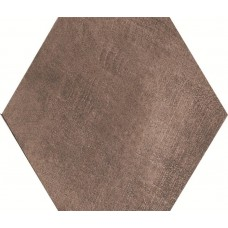 Cir Docklands Hexagon Brown 24X27.7