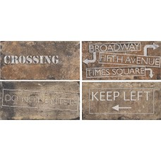 Cir New York Road Signs Mix Chelsea 10X20
