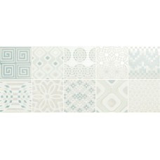 Novabell Milady Preinciso Patchwork White Mint 25X60