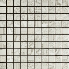 Versace Gold 68910 Mosaici Patch. Bianco 25X25