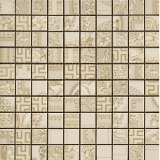Versace Gold 68911 Mosaici Patch. Crema 25X25