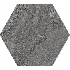 APE Soft Hexagon Anthracite 23X26