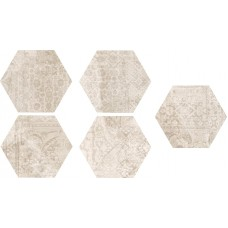 Codicer Concrete Almond Decor Hex 25X22