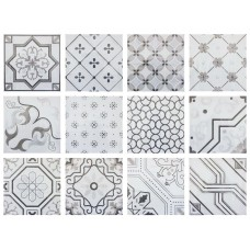 Fabresa Antic Decor Mix Gris 15X15