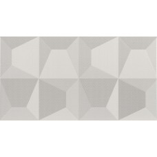 Fanal Cube Blanco Relieve 32.5X60