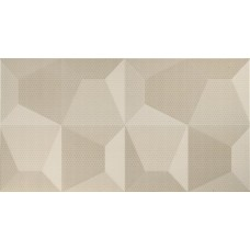 Fanal Cube Crema Relieve 32.5X60