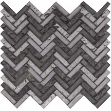 LAntic Colonial Mosaics Harmony Arrow Coltan 25.8X28.4