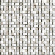 LAntic Colonial Mosaics Imperia Mix Silver White 29.8X29.8