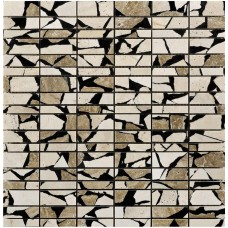 LAntic Colonial Mosaics Linear Safary Cream 28X30