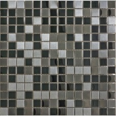 LAntic Colonial Mosaics Metal Acero Highlights 30.5X30.5