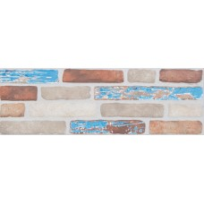 Plaza Brick Mix Azul Decor 19X57