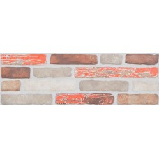 Plaza Brick Mix Rojo Decor 19X57